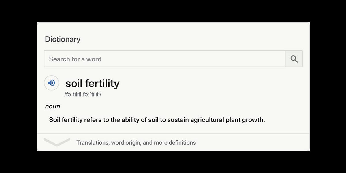 SoilFertility